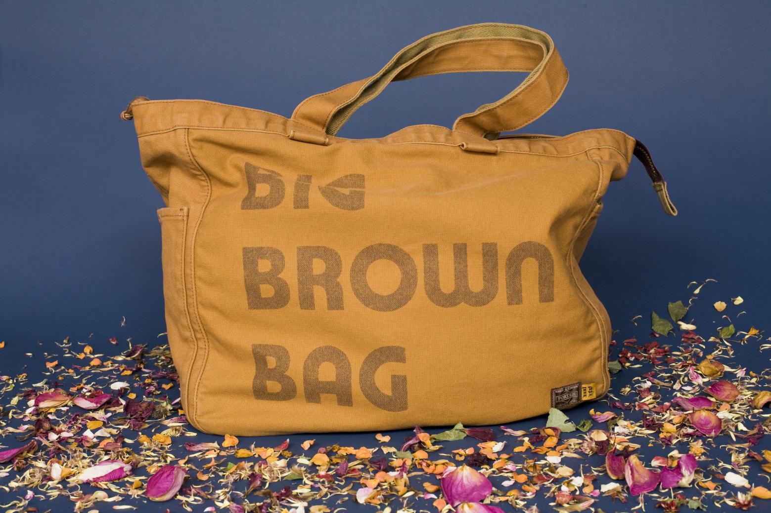 big brown bag brown by 2 tacs 2 tacs